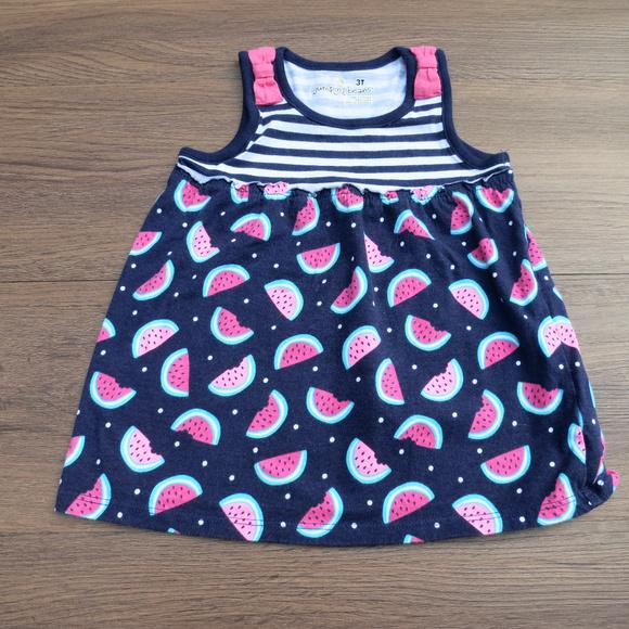 cdc6f66335cfb Jumping Beans Dresses | 3t Watermelon Navy Pink Dress | Poshmark